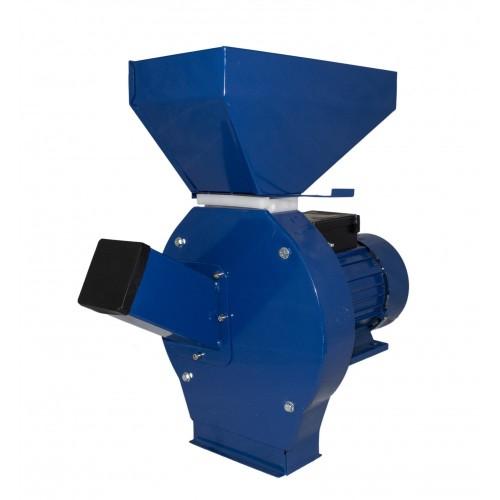 Moara cereale electrica cu ciocanele ELEFANT CM-1.1E, 3500W, 200kg/h, 3000 rpm